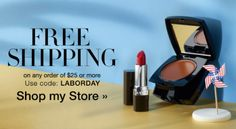 Labor Day Sales with AVON! Shop PJ's Avon Online or at a PJ's Avon Beauty Center in Hoffman Estates or Niles, IL.  Free Shipping with $25+ Online Order. Use Code: LABORDAY pjack.avonrepresentative.com  #AvonSales #LaborDaySavings #Beauty #FreeShipping