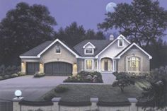 Country / Farmhouse Traditional style home