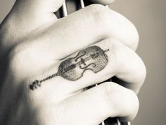 44 Violin Tattoos - Meanings, Photos, Designs for men and women
