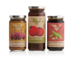 food jar labels from Williams-Sonoma