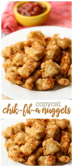 Copycat Chik-Fil-A nuggets - these are so good and taste just like the real thing!!