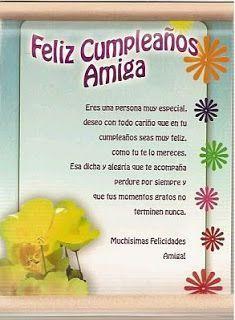 Tarjetas de Cumpleaños para Amigas