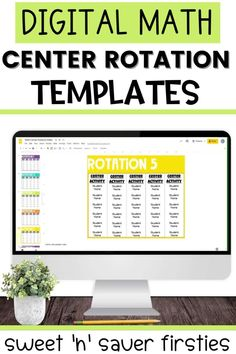 Are you looking for an easy way to display your Math Center Rotations? This completely editable resource has everything you need to get started and have successfully run centers and guided math groups. This is perfect for helping structure and organize your groups as well as help your students easily navigate! This editable math groups planning template is great for math workshop and to help teach students to be independent learners. Use this guided math planning sheet today!