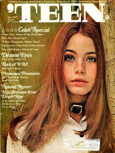 Teen Magazine  5 Issues from 1971  Susan Dey   Cybil Shepherd  Jaclyn Smith  Fashion Stories