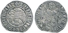 NumisBids: Nomisma Spa Auction 50, Lot 81 : COMO Franchino I Rusca (1327-1335) Grosso – Biaggi 647 AG (g 2,02)...