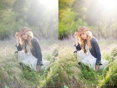 Photo Editing Tutorial for Photoshop - Before & After