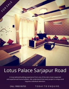 Apartments in sarjapur road, Apartments for sale in sarjapur road, Flats in sarjapur road, Sarjapur road apartments, Flats for sale in sarjapur road, 2 BHK Apartments in Bangalore Flats For Sale, Apartments For Sale, Buckingham Palace, Home Builders, Lotus, Bed, Building, Projects, Furniture
