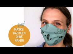 Make the mask without sewing in 2 minutes – Maske nähen Pocket Pattern, Free Pattern, Mask Making, Diy Face Mask, Face Masks, Cool Ideas, Most Beautiful Pictures, Sewing Projects, About Me Blog