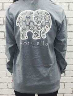 Long Sleeve T-shirt Printed Elephant 100% Knitted Cotton. You will find your's here: https://ecolo-luca.com/collections/tshirt/products/long-sleeve-t-shirt-printed-elephant-100-knitted-cotton?variant=22672515779