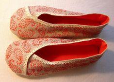 Woman's Kimono shoes pattern