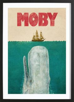Pop Goes The Culture Pop art poster prints by Terry Fan Terry Fan, Moby Dick, White Whale, Whale Art, Camisa Polo, Art Mural, Canvas Prints, Art Prints, Canvas Art