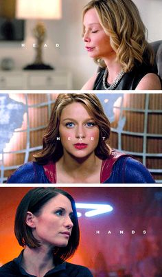 ᴇ ʟ ᴍ ᴀ ʏ ᴀ ʀ ᴀ ʜ — it means stronger together #supergirl