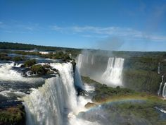 Iguassu Falls Brazil [OC] [53444008] #reddit