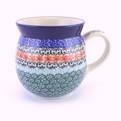 Large mug by #PolishPottery can be found at http://slavicapottery.com