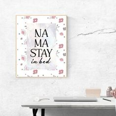 """""""Rise and Shine"""" Printable - spoonyprint Home Decor Quotes, Stay In Bed, Poster Prints, Printables, Design, Print Templates"""