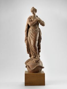 Mary Immaculate (clay figure)      Manufacturer: Roman Anton Boos (1733-1810)    Dated: to 1780/1790    Location: Munich