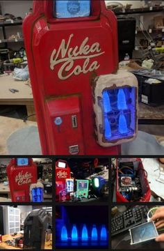 Build a Nuka Cola vending machine PC inspired by Fallout   https://hackaday.io/project/13388-nuka-cola-pc