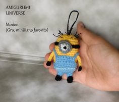 MINION! Tutorial Amigurumi. DIY Crochet (English Pattern Subtitles)