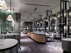 HIGH END RESTAURANTS AND HOTELS | The French Window Restaurant, Hong Kong by ABConcept. #decor #furniture #food | www.bocadolobo.com