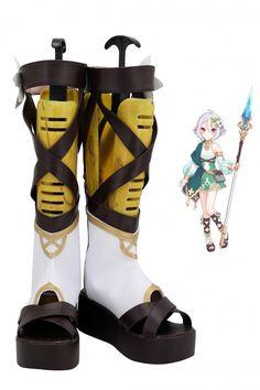 Princess Connect! Re:Dive Natsume Kokoro Cosplay Boots Cosplay Boots, Cosplay Wigs, Cosplay Costumes, Jean Grey Phoenix, Kokoro, Dress Making, Diving, Rubber Rain Boots, Calves