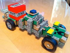 Minecraft-themed pinewood derby cars are super popular this year. Check out these awesome photos.
