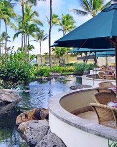 Kauai Beach Resort - Lihue, Hawaii . Must eat breakfast here in mornings @ hotel pretty ♥ #29 days