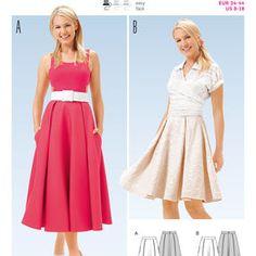 Burda Style Pattern 6650 Misses' Skirt