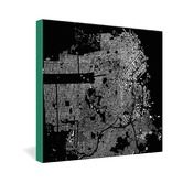 Found it at AllModern - CityFabric Inc San Francisco Gallery Wrapped Canvas