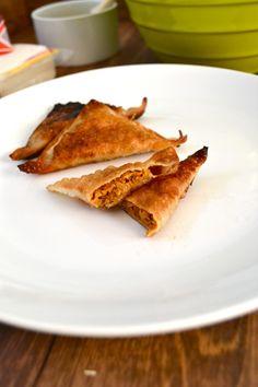 Sweet Sausage & Pumpkin Potstickers... #fall #pumpkin #appetizer