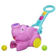 Playskool Poppin' Park Pop 'n Pick Up Pink Elephant Toy