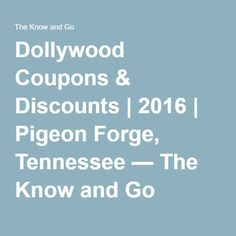 Dollywood coupons discounts