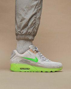 Nike Air Max 90 Strata GreyCyber Green Freshness Mag