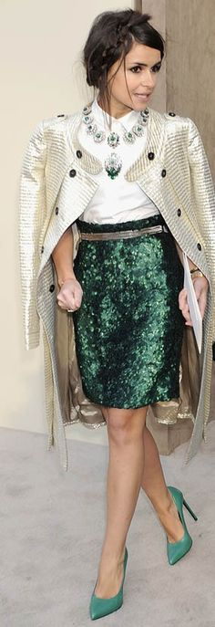How to wear this year's color - Emerald.