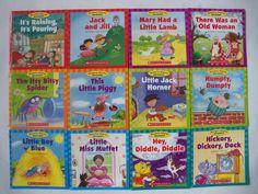 Nursery Rhyme Readers Preschool Lot 12 - Children's Books Teaching Supplies NEW