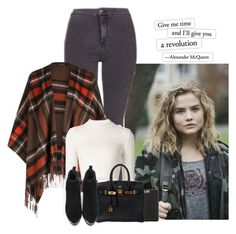 """revolution."" by sticthen on Polyvore featuring Hasson, Topshop, Maison Margiela, Case-Mate, Hermès, waves, fanfiction, maddiehasson and CharliePuth"