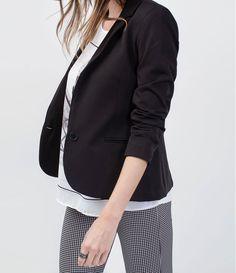 4ce9d34063 20 top imagens de MJC ) moda jovem casual) blazer feminino estilosas ...