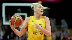 Australia's Lauren Jackson.