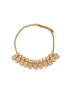Buy CHIC PICK BEIGE NECKLACE • Just Pretty Things