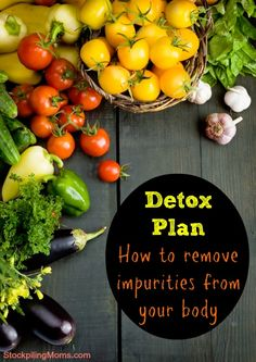 Detox Plan - How to remove impurities from your body