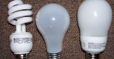 Many of us in the effort to save energy and money, replaced our old standard light bulbs with environmentally-friendly new generation energy saving light...
