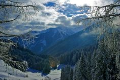 Saalbach-Hinterglemm mountains, Austria by Reinier Bergsma, via Flickr