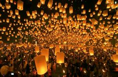 Set lanterns free into sky, like in rapunzel! (Other light show)