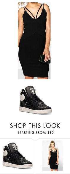 """Untitled #823"" by laurie-egan on Polyvore featuring adidas and Boohoo"