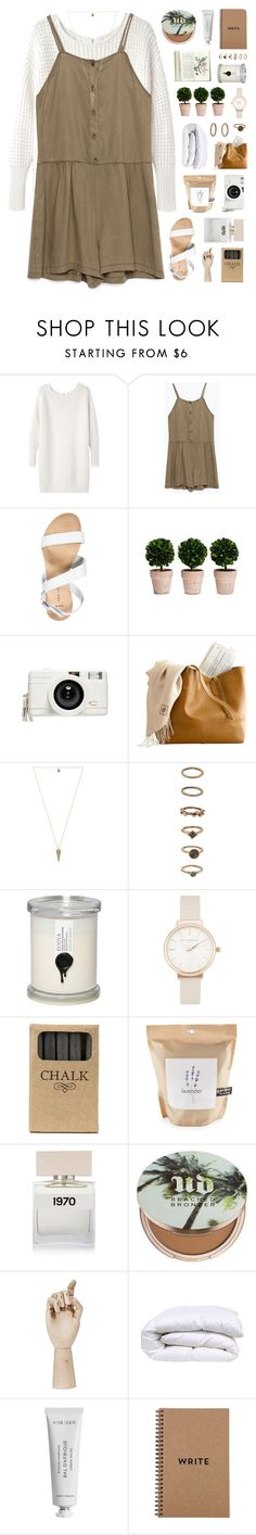 """""""wide awake"""" by tiaranurindaa ❤ liked on Polyvore featuring Acne Studios, Zara, New Look, Lomography, House of Harlow 1960, Forever 21, ECOYA, Olivia Burton, Jayson Home and Potting Shed Creations"""