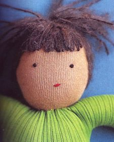 Any girl would love a doll as a gift, but a doll made by hand is even more special. Choose one of these simple and thoughtful crafts to make your own.