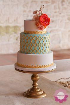Rita Marie Wedding Cake Stand #handmadecakestand #cakestand #wedding