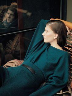 Valerija Kelava by Zoe Ghertner for Hermès