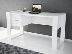 White designer office desk www.modernfurnituredeals.co.uk