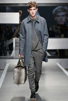 FENDI Fall/Winter 2013-14 Men's Fashion Show. LOVING THE BAG