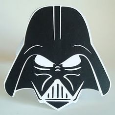 darth vader - free cut file, cant wait to make this into a card for my favorite geek lol